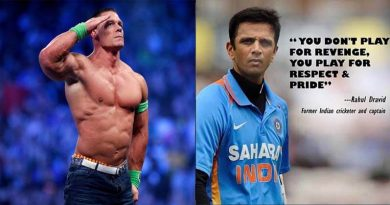 John Cena Posted A Quote Of Rahul Dravid On Instagram And Got Props From The Fans