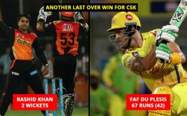 Match 57, IPL 2018 CSK VS SRH