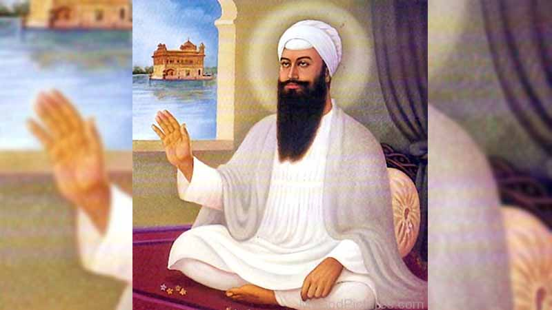 The 5th Guru Helped The Construction Of The Lake And Stairways