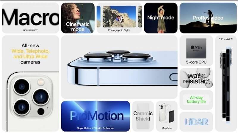iPhone 13 Pro Spec