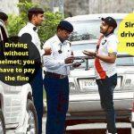 Karnataka Cab Driver Slapped Fine for Driving Without Helmet