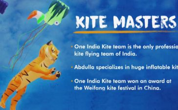 Abdulla And One India Kite Team