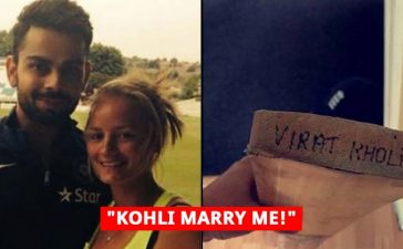 kohli gifted bat