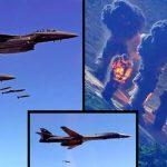 US And South Korean Military Drop Bombs Close To North Korean Border
