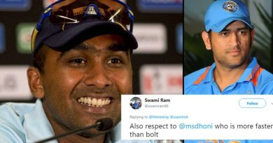 Mahela Jayawardene Trolled MS Dhoni Fan In A Witty And Humorous Way