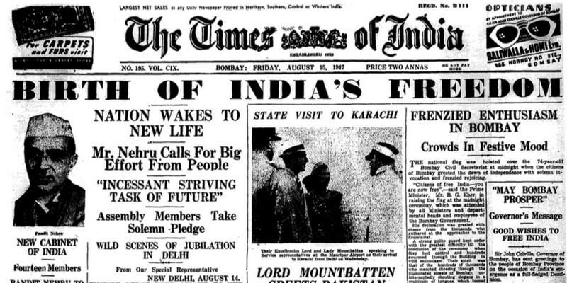 Latest India News Headlines: These Iconic Newspaper Headlines In The History Of India