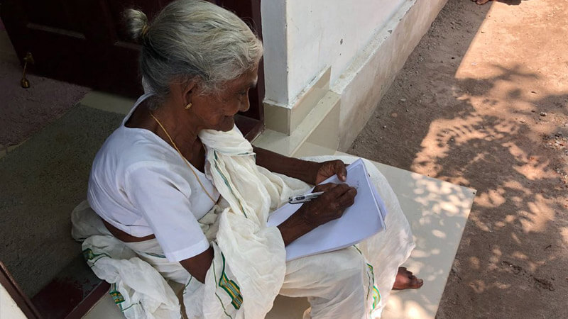 Karthyayani Amma Started Studying At The Age Of 96, Took Admission In 4th class