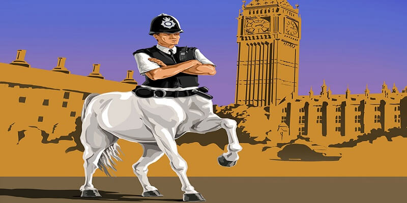 Satirical Illustrations police