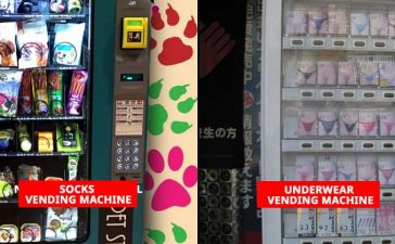 socks and underwear vending machine