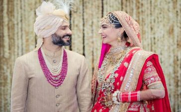 Sonam Kapoor Marriage Photos