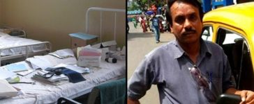 Taxi Driver Saidul buildt his own hospital