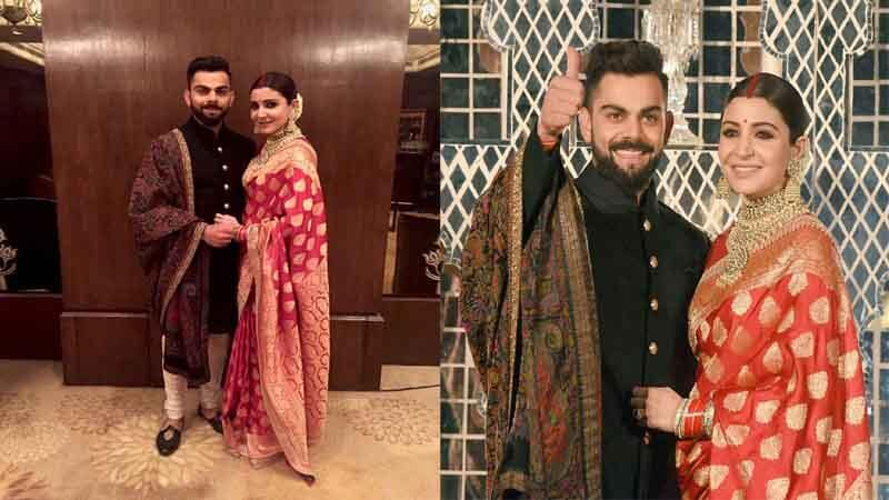 Virat Kohli Wedding reception